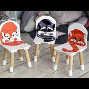 Детский стул РЫЖИЙ ТИМ ЛИСА цвет Оранжевый