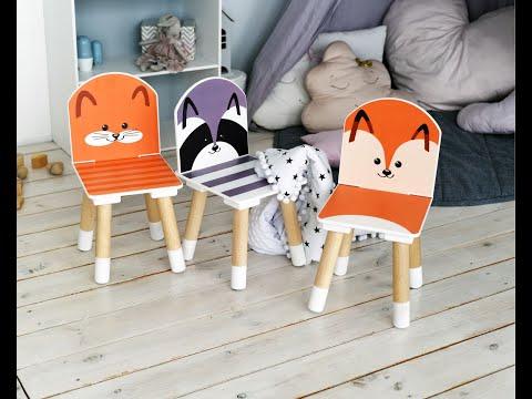 Растущий стул РЫЖИЙ ТИМ КОТ цвет Оранжевый