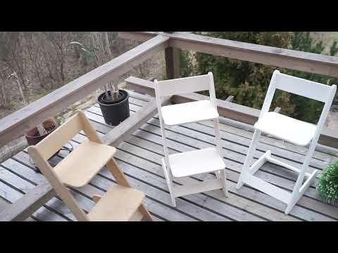 Растущий стул Be kids  цвет Бук