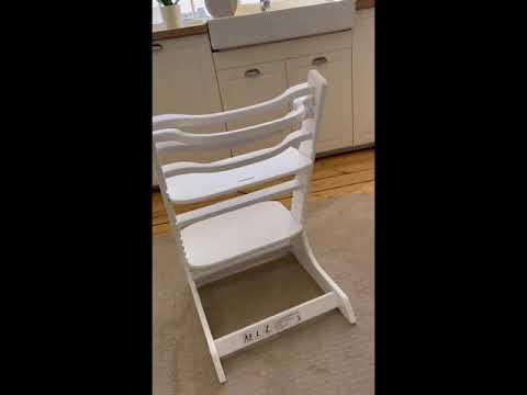Растущий стул VROST FAN-2 цвет Белый