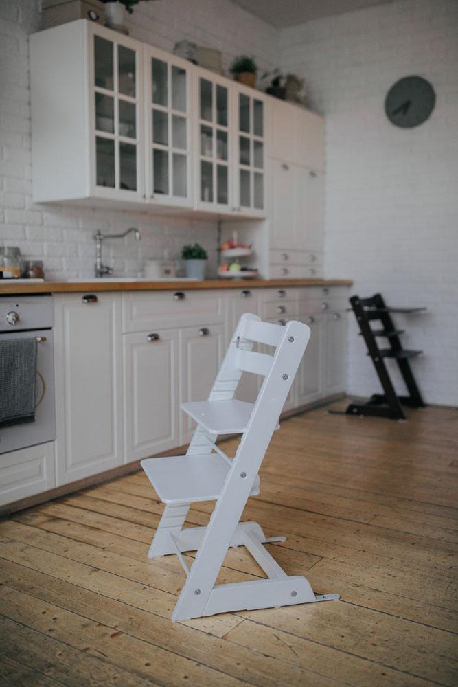 Растущий стул «Феникс» Белого цвета