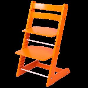 Растущий стул Феникс «Оранжевый»