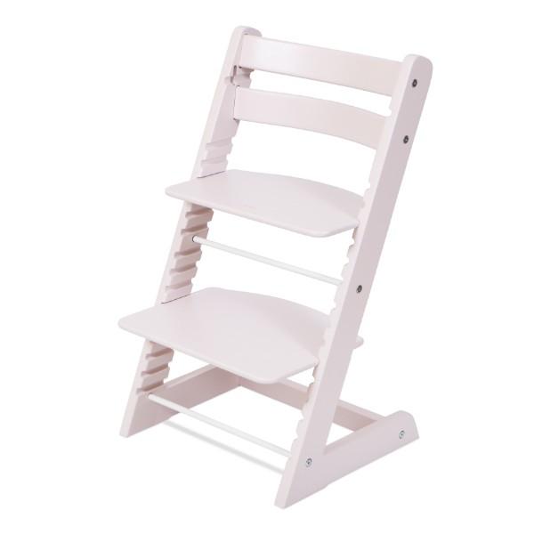 Растущий стул Феникс «Пастельно-розовый»