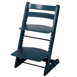 Растущий стул Феникс «Серо-синий»